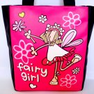 Fairy Girl Cartoon Fashion Large Tote Shoulder Bag Purse