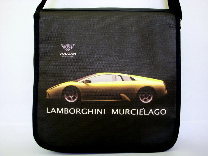 "Lamborghini Murcielago Sport Car 10"" Laptop Notebook Shoulder Case Bag"
