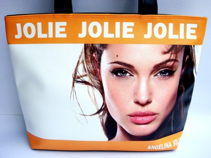 Angelina Jolie Erotic Fashion Wide Tote Shoulder Bag Purse