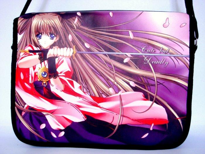 "Japanese Anime Manga Cartoon 15"" Laptop Notebook Shoulder Bag"