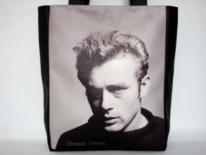 James Dean Classic Cinema Large Tote Shoulder Bag Purse