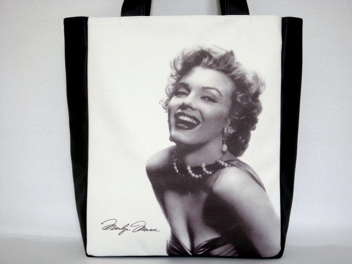 Marilyn Monroe Signature Classic Large Tote Shoulder Bag Purse
