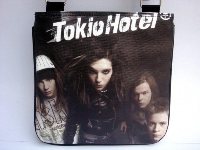 Tokio Hotel Pop Rock Messenger Sling Black Bag Purse