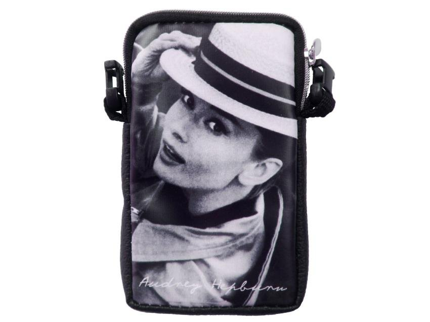 Audrey Hepburn Rare Mobile Cell Phone Camera Case Pouch Bag
