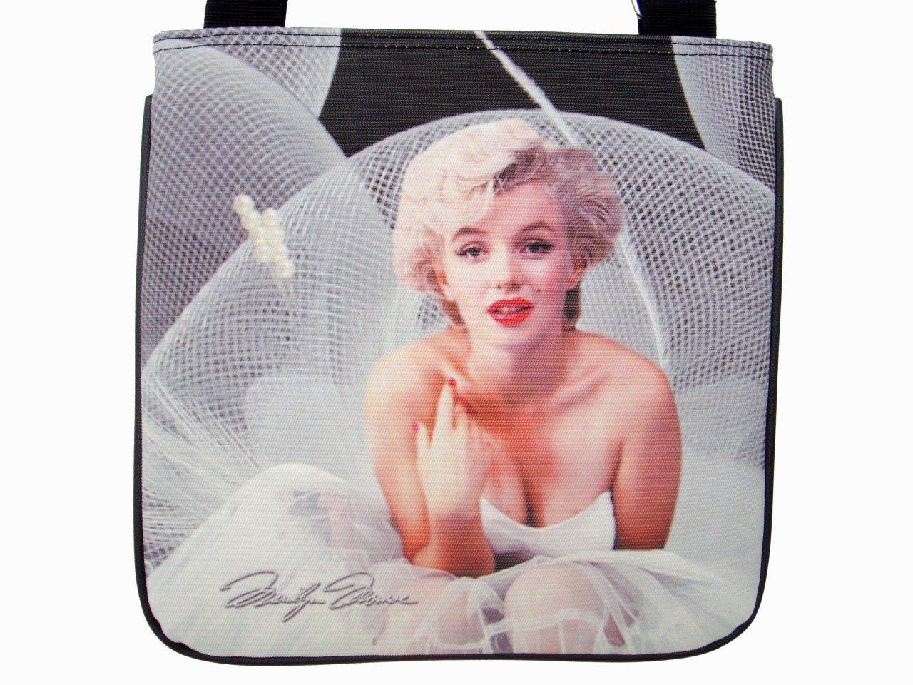 Marilyn Monroe Signature Ballerina Shoulder Sling Bag Purse