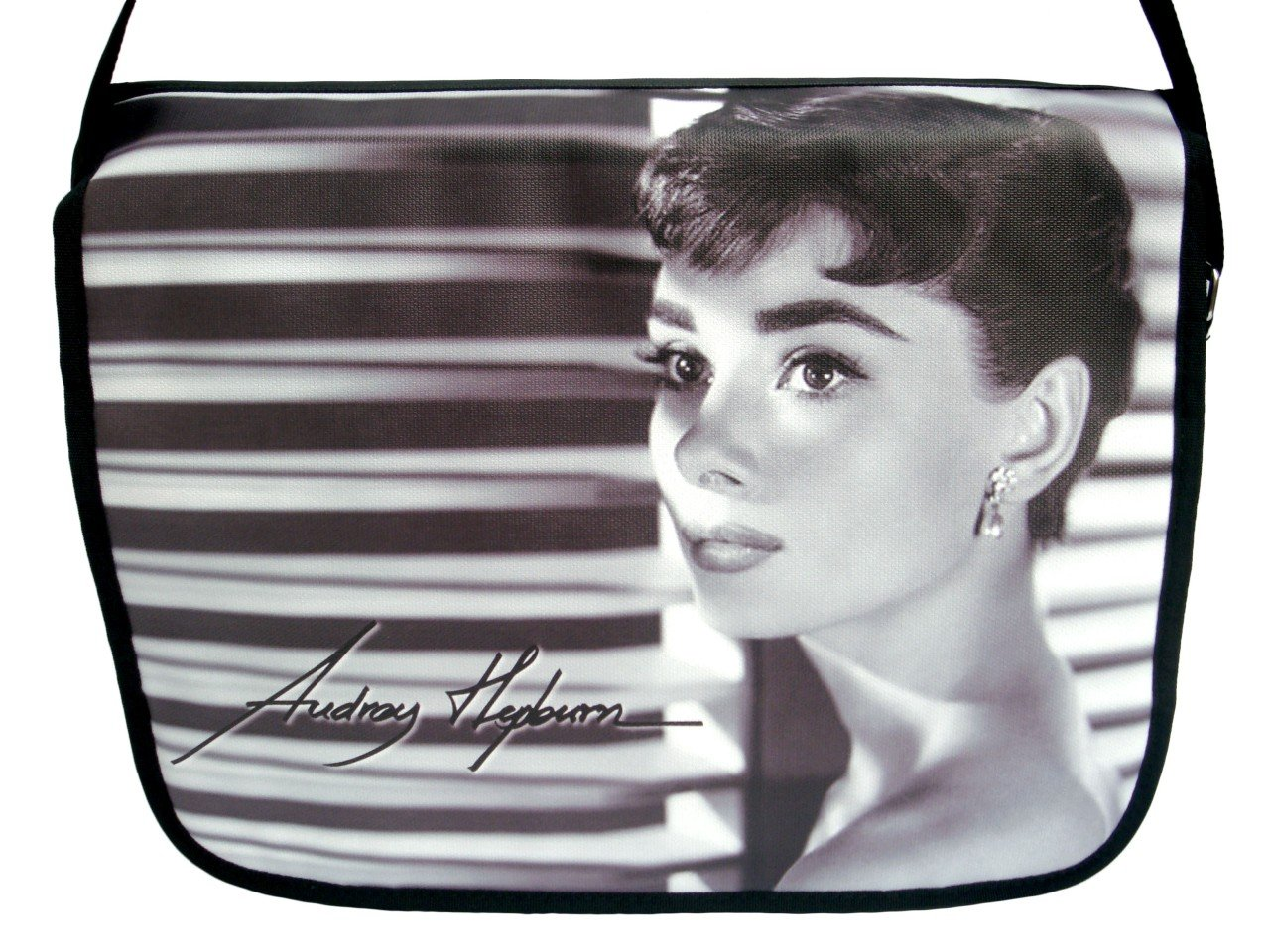 "Audrey Hepburn Signature Classic 15"" Laptop Notebook Case Bag"