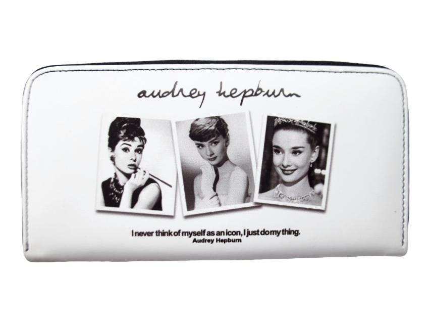 Audrey Hepburn Rare Photo Collage Credit Card Money Case Wallet Purse
