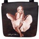Marilyn Monroe Signature Ballerina Black Messenger Sling Bag Purse