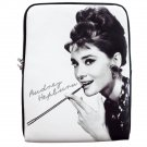 Audrey Hepburn iPad 1 2 3 4 Mini Air Netbook Tablet Sleeve Case Cover Skin Bag