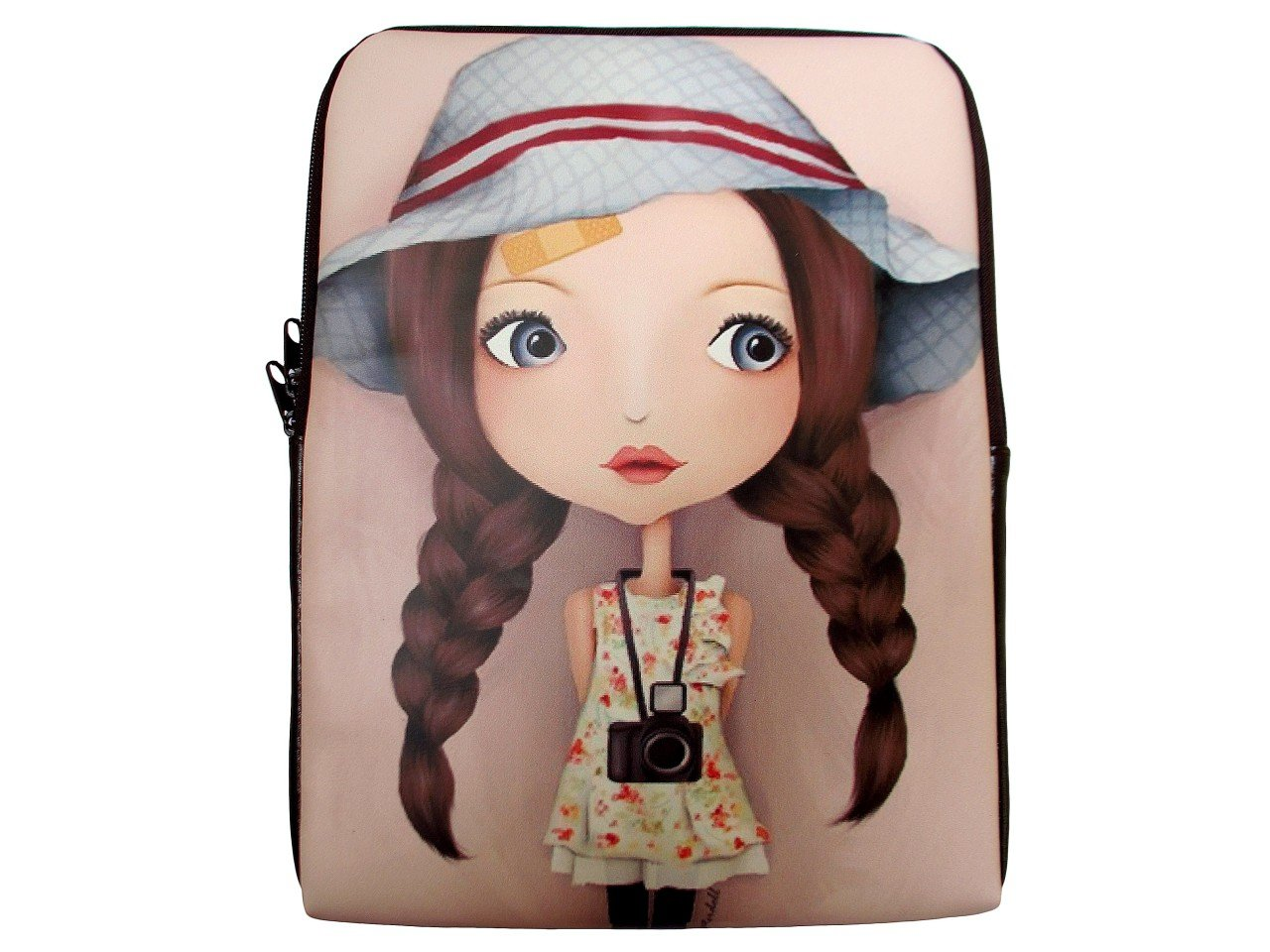 Cartoon iPad 1 2 3 4 Mini Air Netbook Tablet Sleeve Case Cover Skin Bag