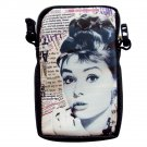 Audrey Hepburn Rare Mobile Phone iPhone Camera Case Pouch