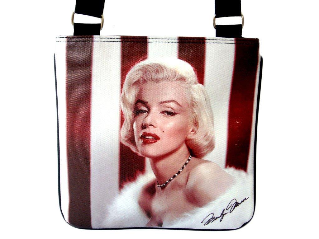 Marilyn Monroe Fashion Signature Messenger Sling Bag Purse