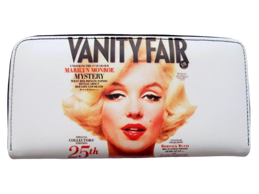 Marilyn Monroe Vanity Fair Front Cover Credit Card Money ID Holder Wallet