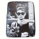 Audrey Hepburn Retro Rare iPad 1 2 3 4 Mini Air Netbook Tablet Sleeve Case Cover Skin Bag