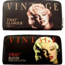 Marilyn Monroe Blonde 1960s Card Money ID Holder Wallet Purse Bag