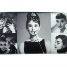 Audrey Hepburn Rare Photo Collage Travel Wallet ID Holder Bag