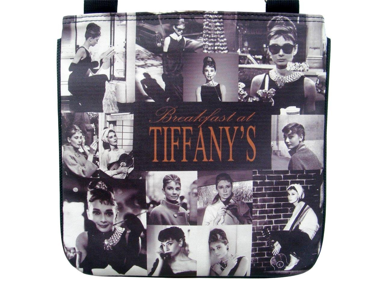 Audrey Hepburn Breakfast at Tiffany's Picture Collage Cross Body Bag Purse