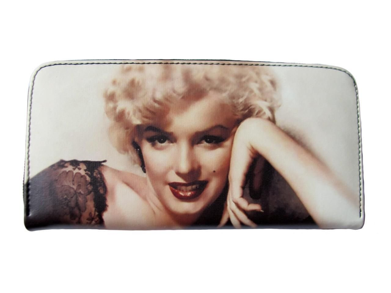 Marilyn Monroe Collectible Credit Card Money ID Holder Clutch Wallet Purse Bag
