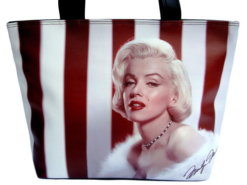 Marilyn Monroe Classic Fashion Wide Tote Shoulder Bag Purse