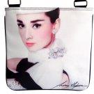 Audrey Hepburn Signature Fashion Messenger Bag Purse