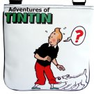 TINTIN Snowy White Cartoon Vintage Retro Messenger Bag Purse
