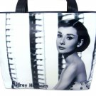 Audrey Hepburn Classic Cinema Retro Movie Tote Shoulder Bag Purse