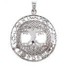 925 Sterling Silver Celtic Knots Tree of Life Zodiac Star Sign Astrology Horoscope Charm Pendant