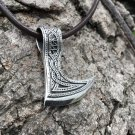 925 Sterling Silver Viking Slavic Perun Axe Double Sided Legendary Amulet Pendant