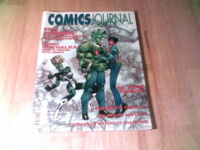 The Comics Journal Savage Dragon Erik Larsen Interview