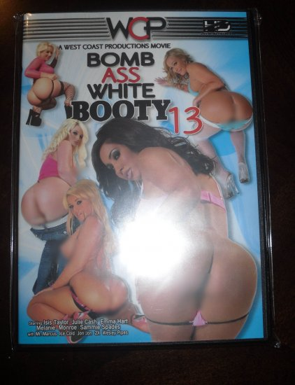 Bomb Ass White Booty 13-WCP-Interracial Adult DVD