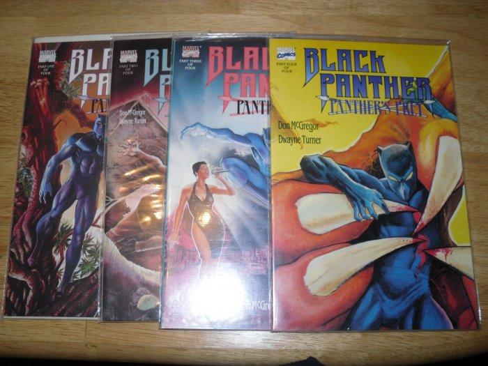 Black Panther Panther's Prey Comic Book Lot