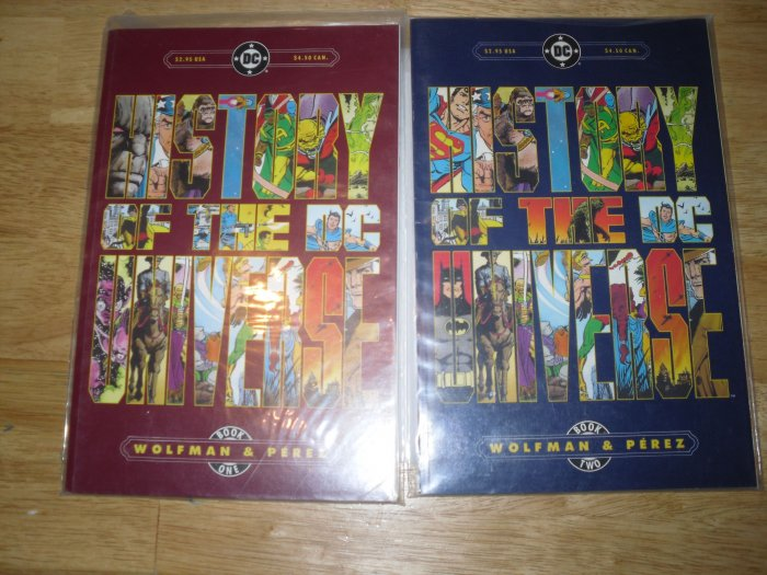 History of the DC Universe Comic Book Set