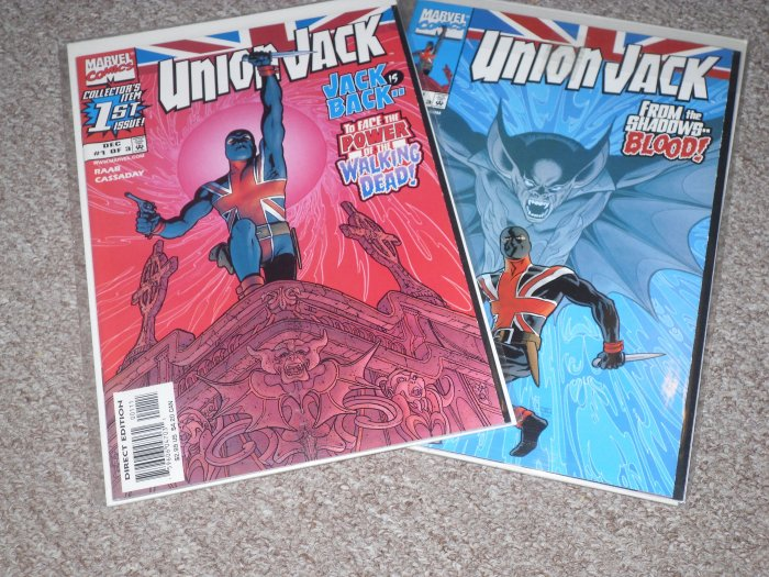 Union Jack Comic Book Lot