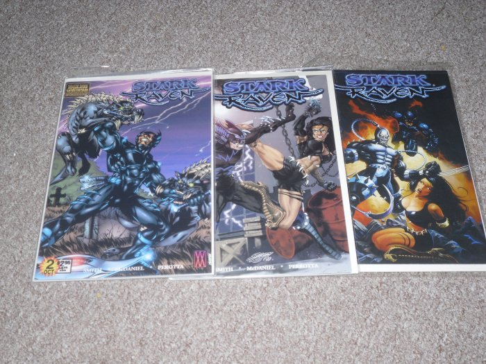 Stark Raven Comic Book Lot