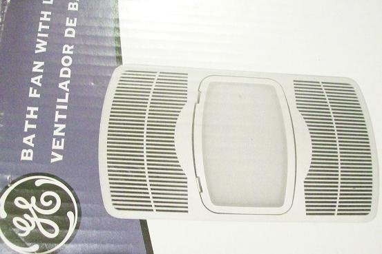 General electrric light, fan, heater bathroom light heater fan