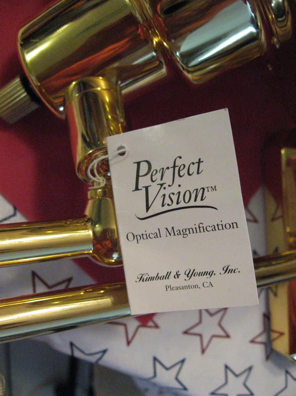 Kimball & Young wall mount 8x optical mirror Perfect vision
