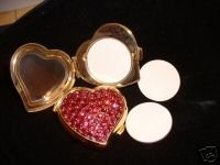 VICTORIA SECRET PINK JEWELED COMPACT SOLID PERFUME