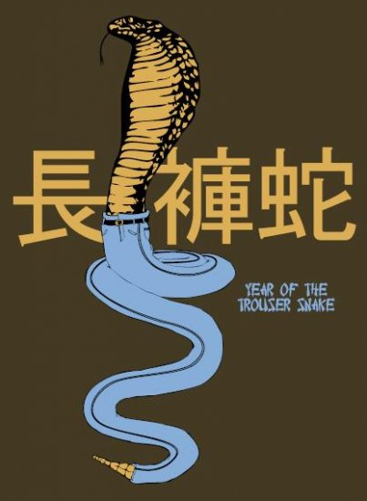 Year of the Trousersnake Men's T-Shirt