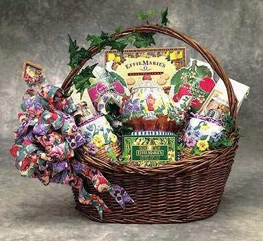 Spring Tea Time Gift Basket
