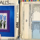 McCalls 7817 Quick & Easy Quilts Iris Stainglass Window Pattern