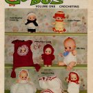 Cupie Do's Volume One Crocheting Patterns Mangelsen & Sons - 04-0004-00-4