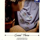 Crested Throw - Vanessa Ann - Christmas in Cross Stitch Chart