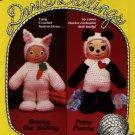Darice Darlings - Benny the Bunny & Peter Panda Crochet Pattern