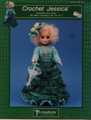 Crochet Jessica Collectable Doll Series Pattern