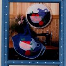 "Applique & Hoop Art ""Apples in a Bowl"" Pattern"