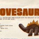 Zim's Glovesaurus Cute Dino Pattern