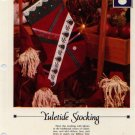 Yuletide Stocking -Vanessa Ann - Christmas in Cross Stitch Chart