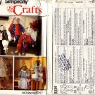 "Simplicity 9336 Stuffed 24"" Bunny & Cat with Clothes Pattern - Uncut"