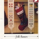 Folk Banners -Vanessa Ann - Christmas in Cross Stitch Chart