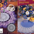 Crocheted Doilies & Flowers Natural Beauty Book 0124
